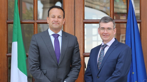 Leo Varadkar said the Government had got the best person for the job