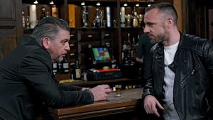 Robbie and Craig share moment of reconciliation on Fair City