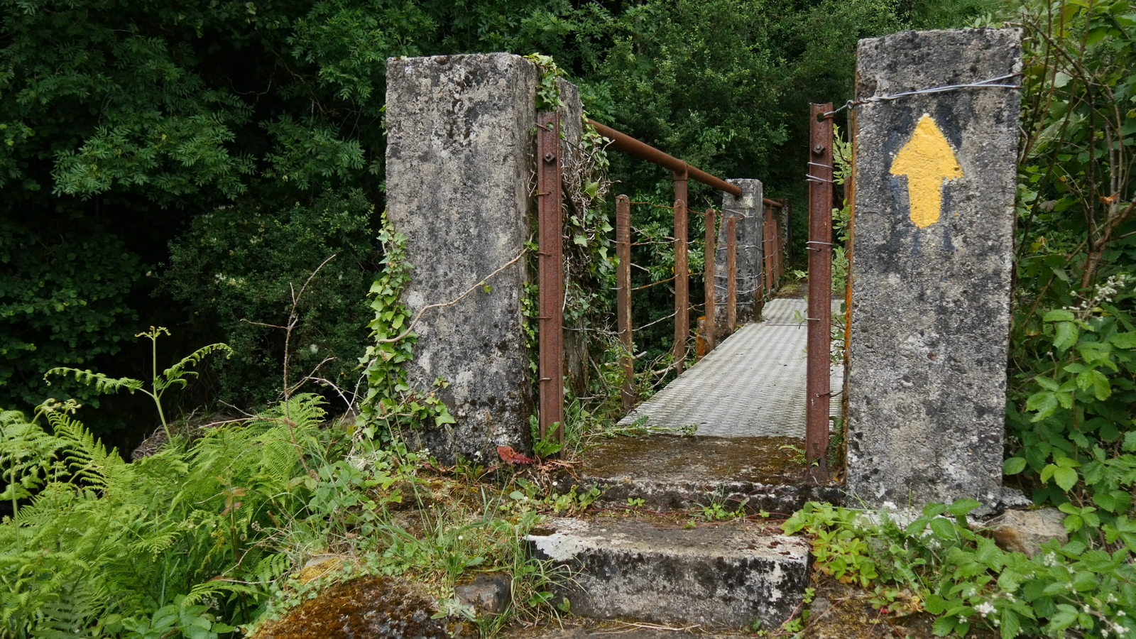 Image - Miner's Way in Arigna, Co. Roscommon