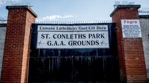 The gates remain closed at St Conleth's Park