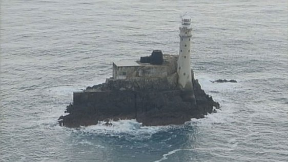 Fastnet Lighthouse off the coast of County Cork (2003)