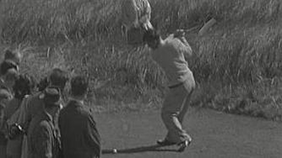 Dai Rees at the Irish Open Portmarnock 1948