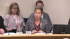 Lee Dunn, Google's Head of International Elections Outreach, was addressing the Oireachtas Communications Committee today
