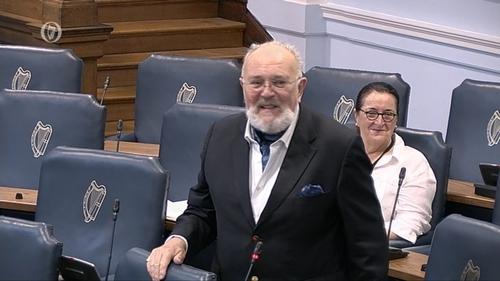 Independent Senator David Norris describes Fianna Fáil stance on presidency as 'very dangerous'