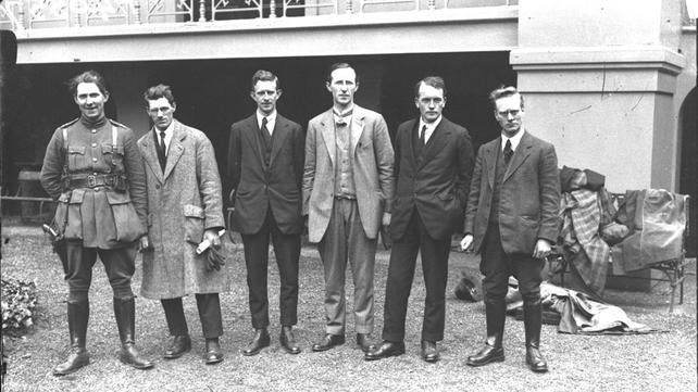 MacEoin, Moylan, O'Duffy, Lynch, O'Sullivan, Mellowes