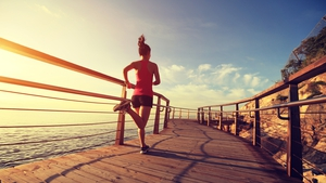 """As long as precautions are taken, running in temperatures as high as 30-35C is fine"". Photo: iStock"