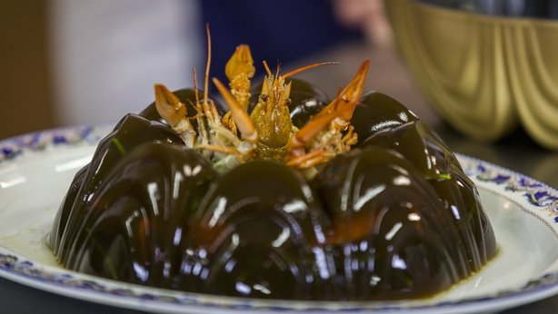 crayfish in jelly