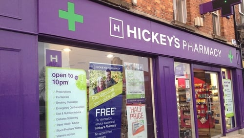 Hickey Pharmacy boss Paddy Hickey tells Aengus Cox the company plans to hire 125 new staff by the end of next year (Pic: Credit Hickey's Pharmacy)