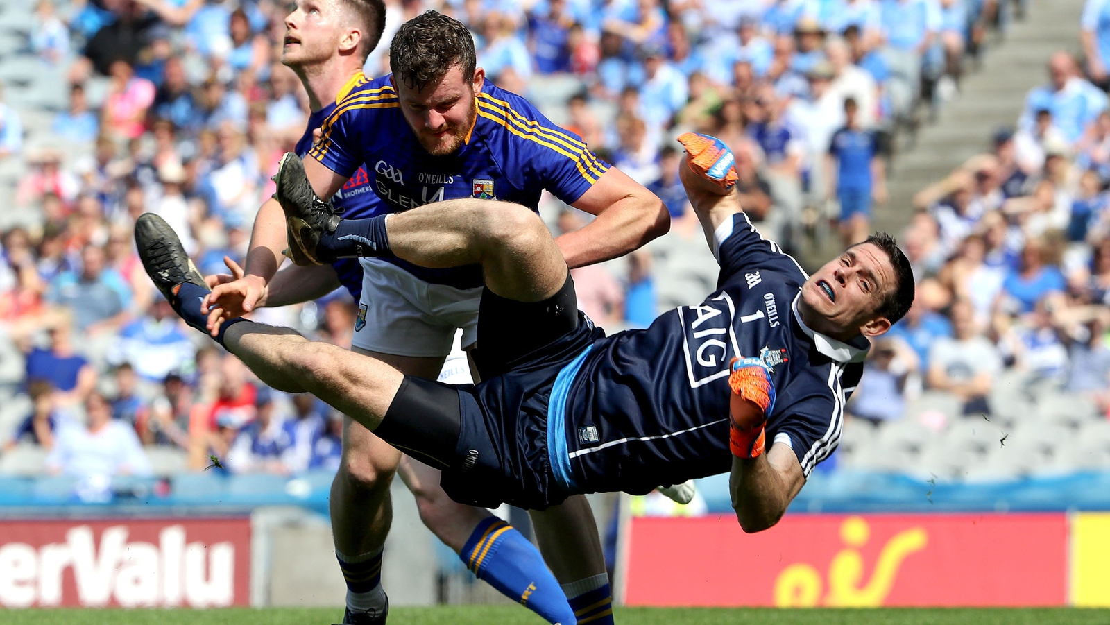Image - Stephen Cluxton did not recover from an injury suffered in the Leinster semi-final win over Longford