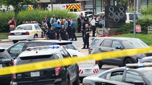 The shooting took place at the Capital Gazette building in Annapolis