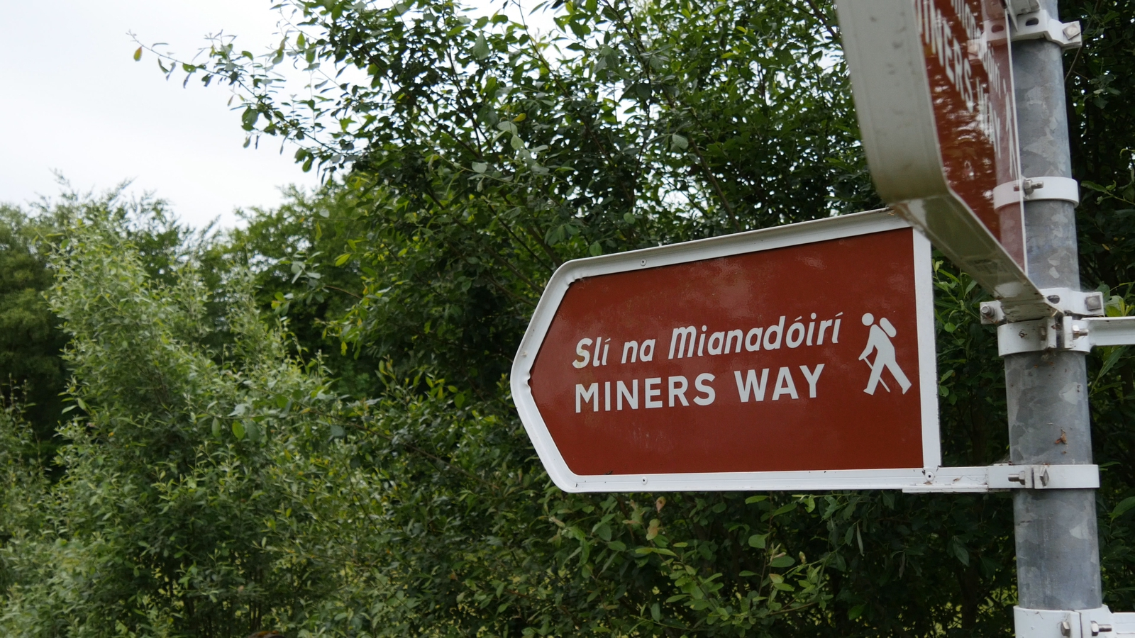Image - The Miner's Way, Co. Roscommon winds across three counties
