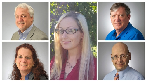 Three men and two women were killed in the shooting (Images courtesy of Capital Gazette)