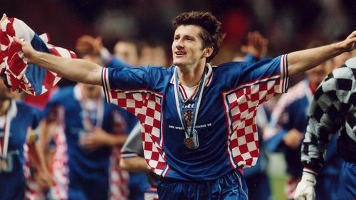 new arrival c5aea 6a141 Magic Modric inspired by Croatia heroes of '98