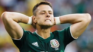 Javier Hernandez will search for cracks in the Samba Boys' rearguard