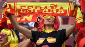 The Spanish were happy