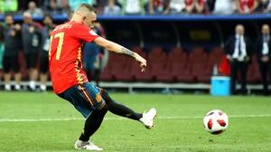 Iago Aspas missed for Spain