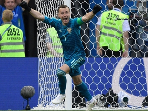 Russia were through to the quarters