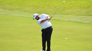 Shane Lowry at the HNA Open de France.