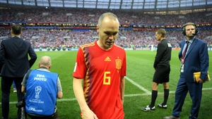 The 34-year-old confirmed his decision after La Roja's last-16 loss to Russia in Moscow.