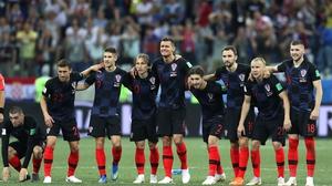 Croatia take on hosts Russia in the quarter-finals