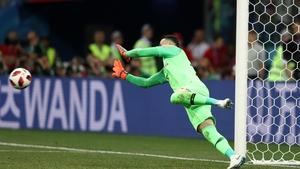 And Danijel Subasic was the hero for Croatia, saving three penalties...