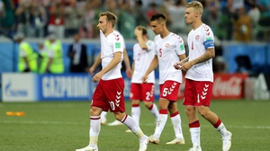 But a tough night for Christian Eriksen, who missed Denmark's first penalty