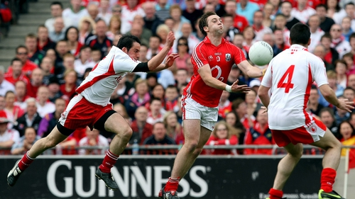 Current Cork captain Paul Kerrigan in action against Tyrrone during the 2009 All-Ireland semi-final