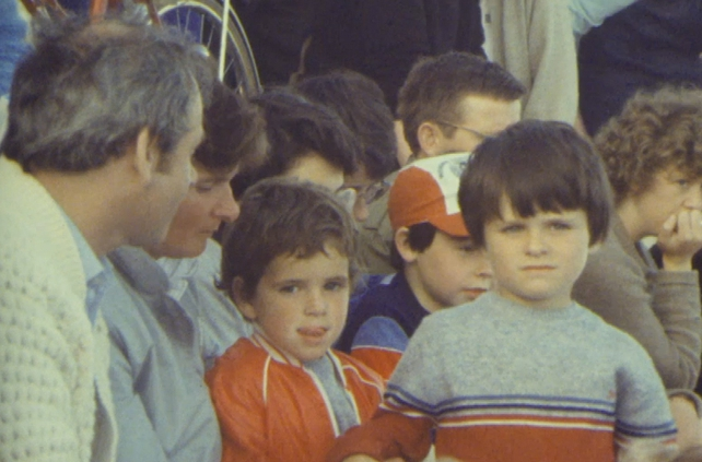 Crowd at Salthill Summer Festival (1983)
