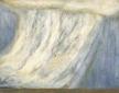 Through the canvas - Gwen O'Dowd's 'Rain II'.