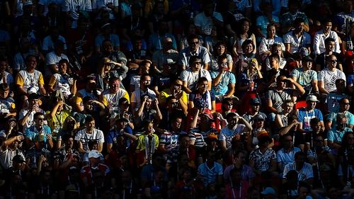 Spot the ball. Photo: Yegor Aleyev/TASS via Getty Images