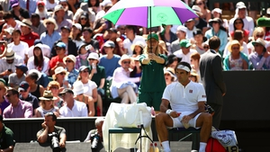 Roger Federer required just one hour and 19 minutes to ease into the second round of Wimbledon