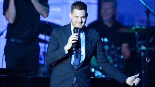 Michael Buble is taking to the Croke Park stage this weekend