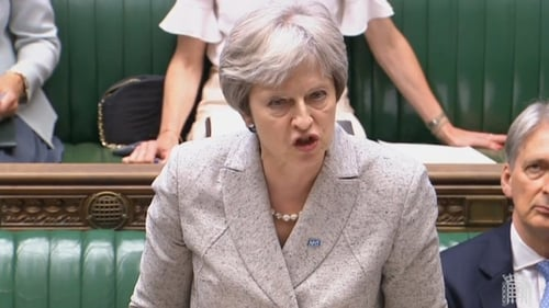 Theresa May held talks with the DUP and made a statement to the House of Commons on Brexit