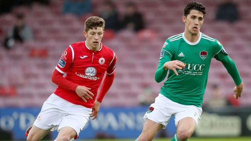 Greg Moorhouse (left) has departed the Showgrounds