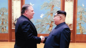 Mike Pompeo will hold talks with Kim Yong-un over the historic Singapore summit denuclearisation deal
