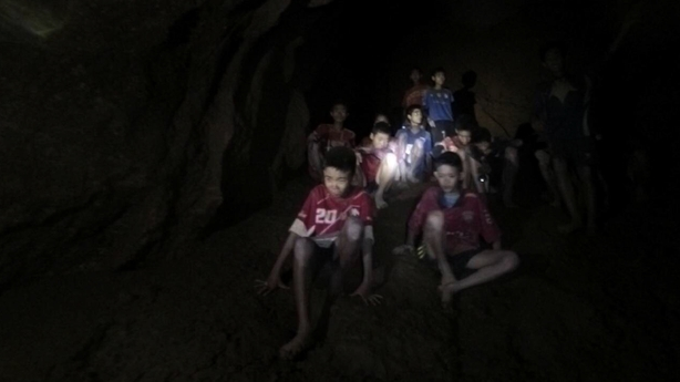 Thai boys return to Tham Luang Cave, one year after ordeal