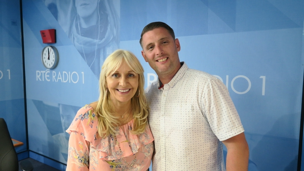 Today host Miriam O'Callghan with singer-songwriter Steo Wall.