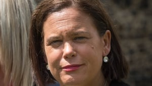 Mary Lou McDonald said the election provides a platform for healthy debate