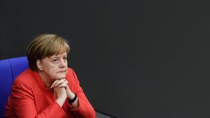 "German chancellor Angela Merkel: ""I lived behind the Iron Curtain so I know only too well what it means once borders vanish"""