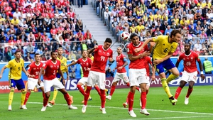 Sweden proved victorious in the all-European tie