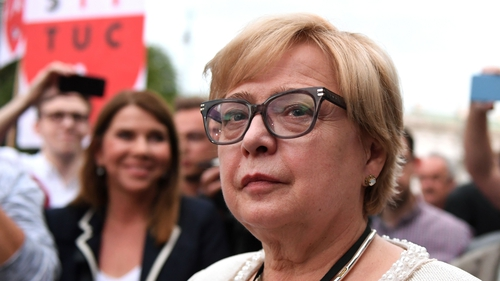 Poland's Top Judge Defies Retirement Law