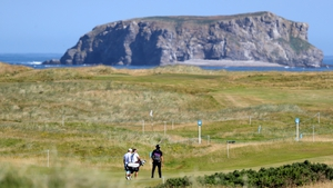A view of the course at Ballyliffin