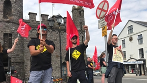The archaeologists are on strike over union recognition and a pay claim