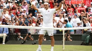 """Roger Federer: """"I felt good out there, less nerves than in the first round."""""""