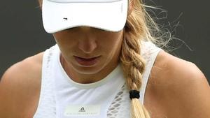 Caroline Wozniacki is out