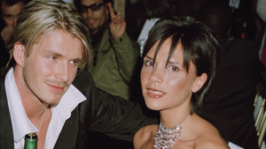The Beckhams pictured in 1999