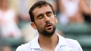 Marin Cilic is out