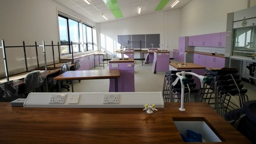 A new science lab at Loreto Secondary School in Wexford