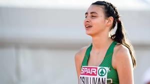 Sophie O'Sullivan is into the 800m semi-finals