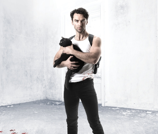 "Review:  ""The Lieutenant of Inishmore"", starring Aidan Turner"